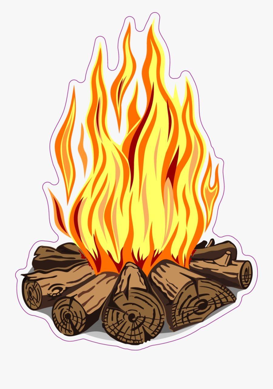 Campfire Clipart Images Ilustrasi Karakter Buku Mewarnai Seni