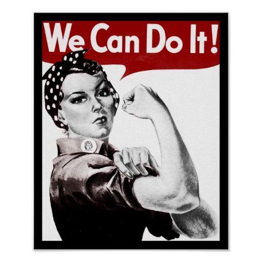 Art Zone Calendar : Rosie the riveter poster people i admire