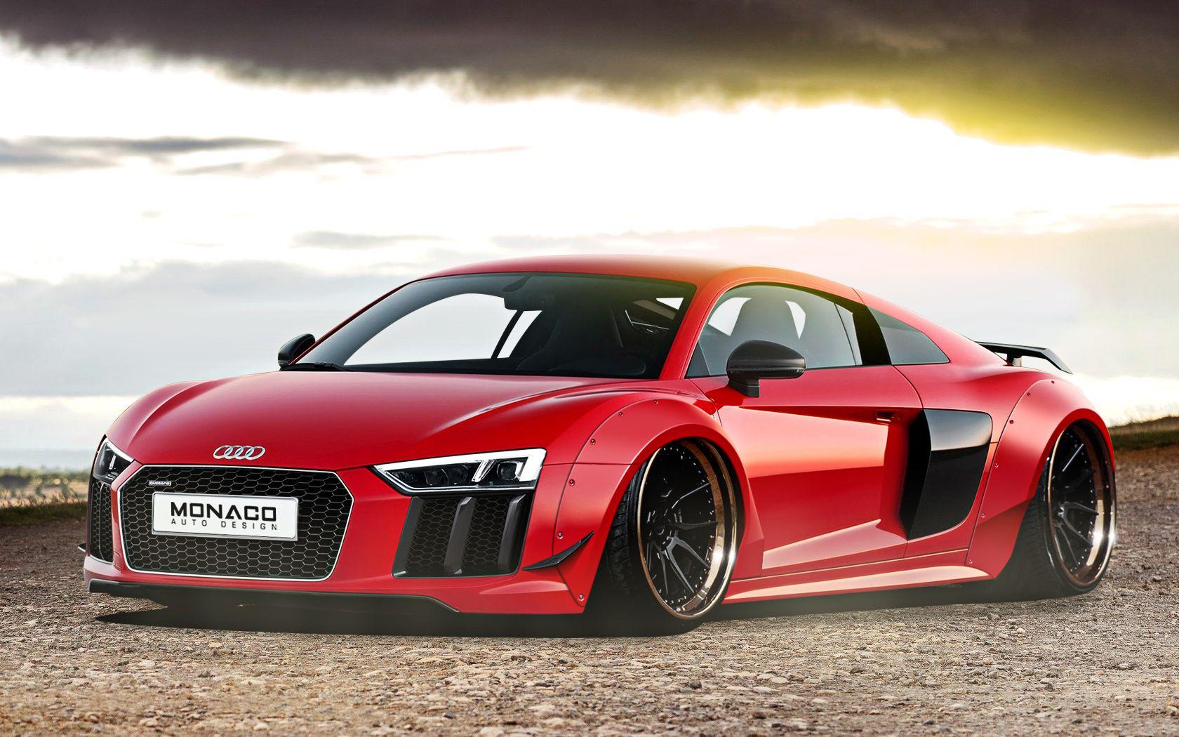 Red Audi r20 v20 wide body   Red audi, Audi, Audi r20 v20