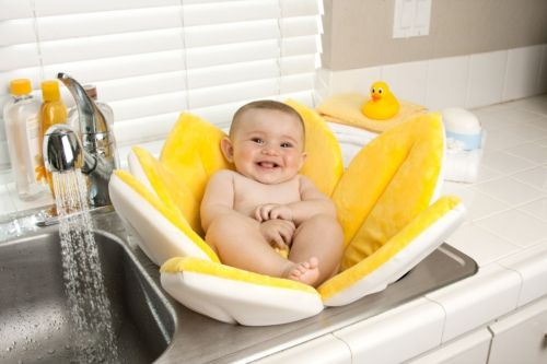 Blooming Bath ~ The Most Adorable Baby Bath We've Ever Seen!