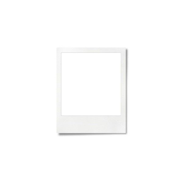 Blank Polaroid Frame Liked On Polyvore Featuring Frames Backgrounds Fillers Borders Pictures Outline And Picture