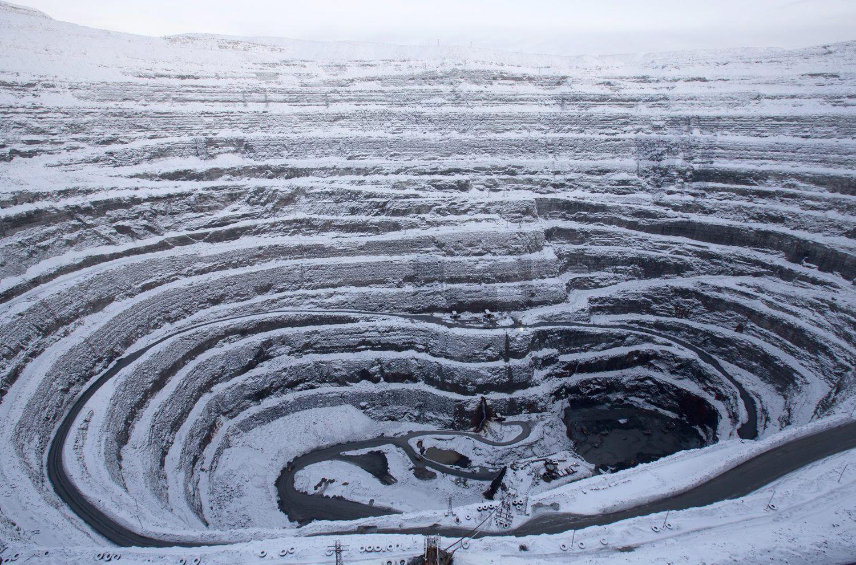 месторождение алмазов фото