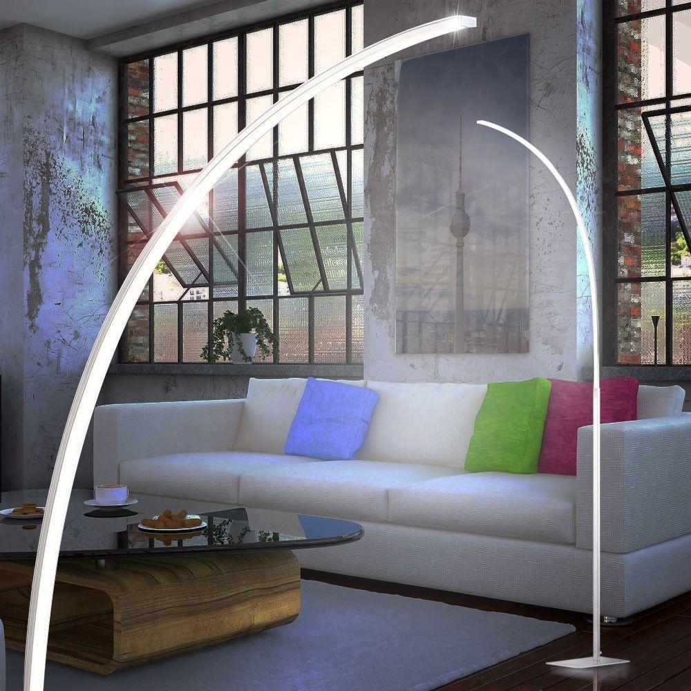 eek:A ) DESIGN LED Steh Lese Leuchte Stund Lampe Wohnzimmer