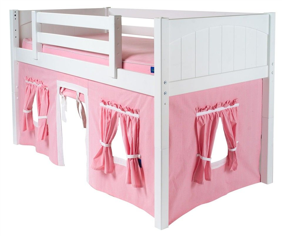 Childrens Playhouse Curtain For Low Loft Beds Loft Bed Curtains Low Loft Beds Bunk Bed Curtains
