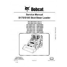 thomas 175 185 skid steer loader parts manual download