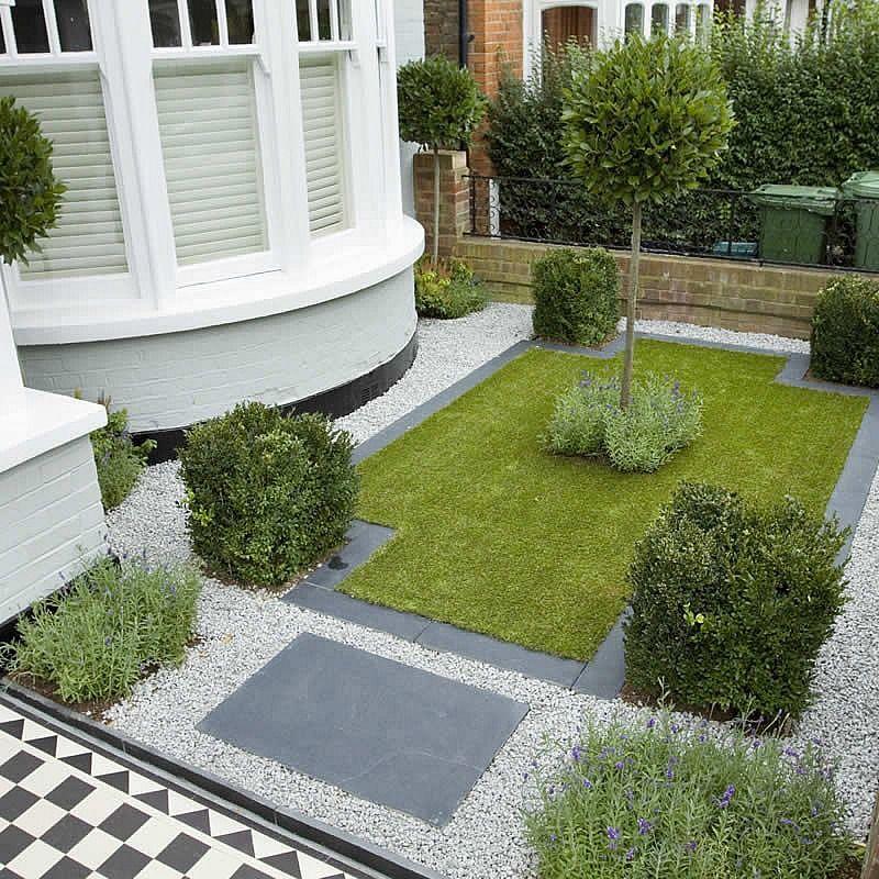 Small City Family Garden Ideas Builders Design Designers In Kew Richmond Surrey A Victorian Front Garden Front Yard Landscaping Design Front Yard Garden Design