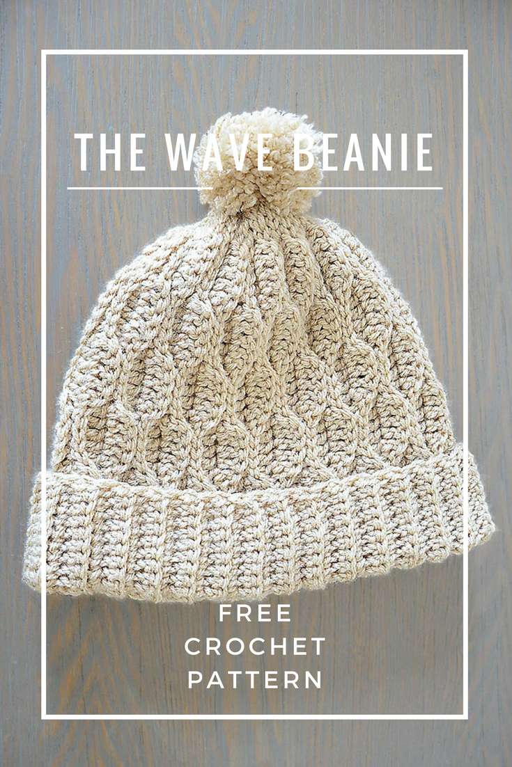 The Wave Beanie | crochet | Pinterest | Gorros, Tejido y Gorro tejido