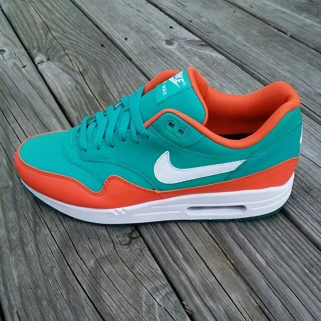 Air max 1 miami dolphins   Nike shoes