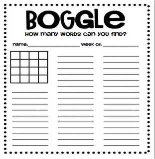 Boggle.  The third grade classes loved it...and so did my fifth grade small group.