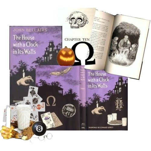 HOUSE WITH A CLOCK IN ITS WALLS by John Bellairs. Still one of my all time 10 favorite books.