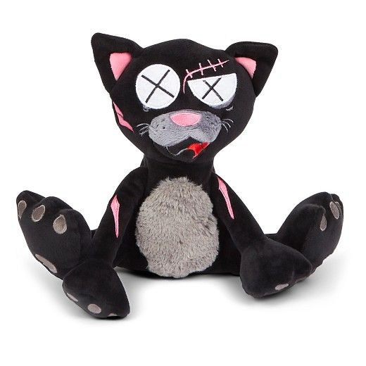 Klaus The Black Cat Toy Is One Tough Kitty Featuring Plush Pull
