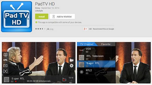 MyGica Pad TV Tuner Untuk Android Warta Cinta
