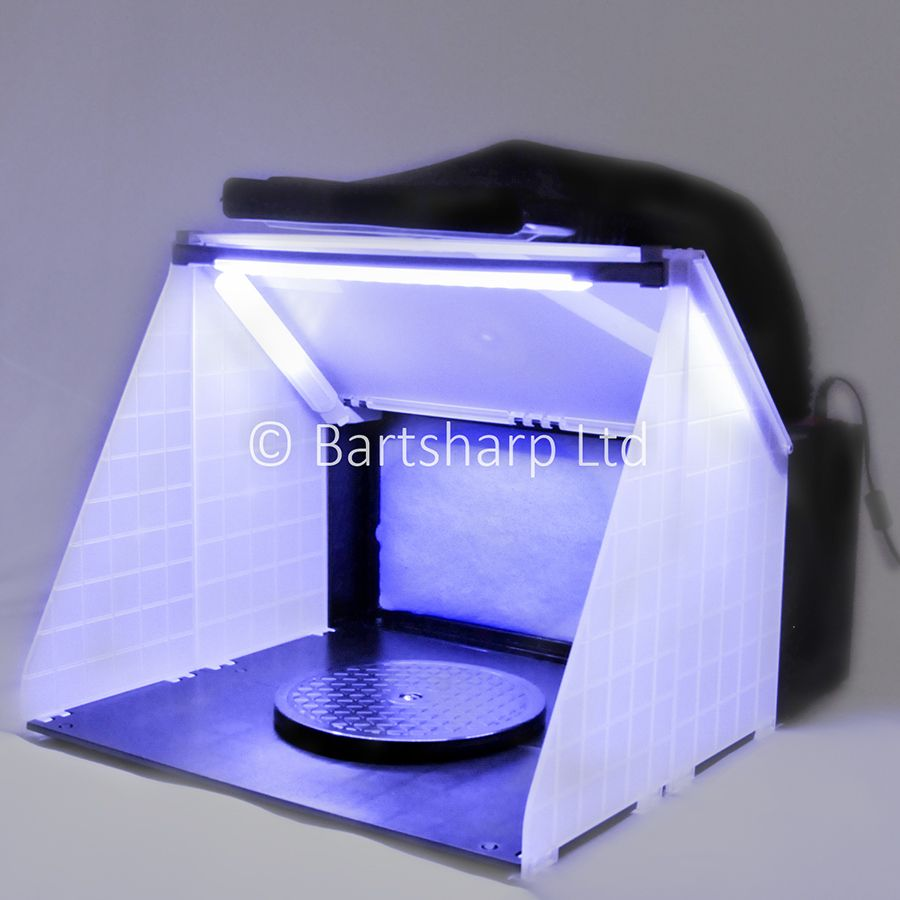 Airbrush spray booth dclk perfect for spraying models and