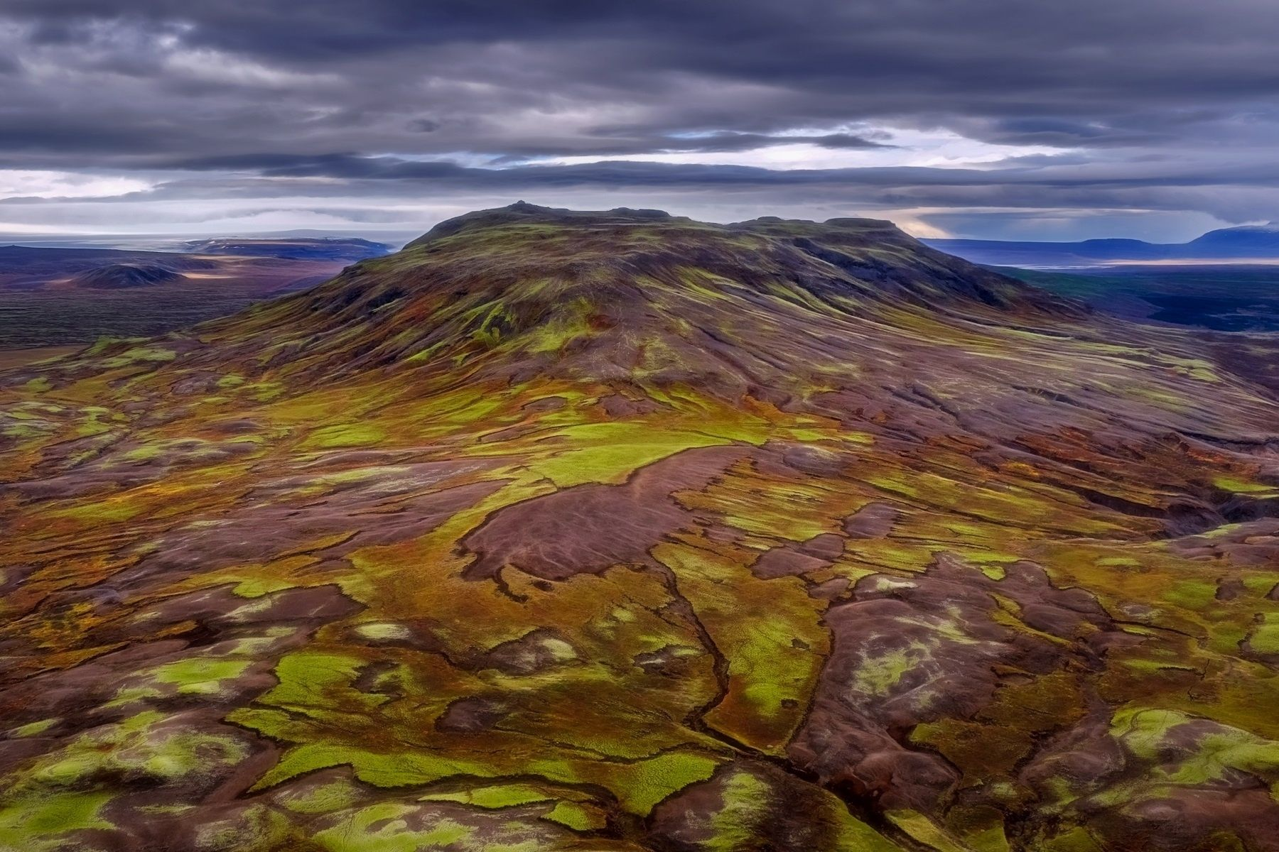 The Living Earth... Less Than 20min Away From Reykjavik. The Weather  Conditions Were As Strange As The Autumn Touched Landscape.