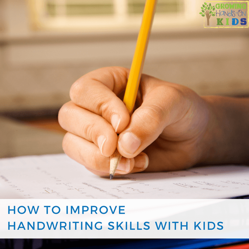 How to Improve Handwriting with Kids Tips and Tricks for
