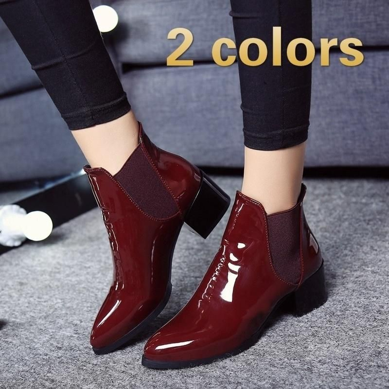 Nuevas botas de moda para mujer nuevas botas de otoño