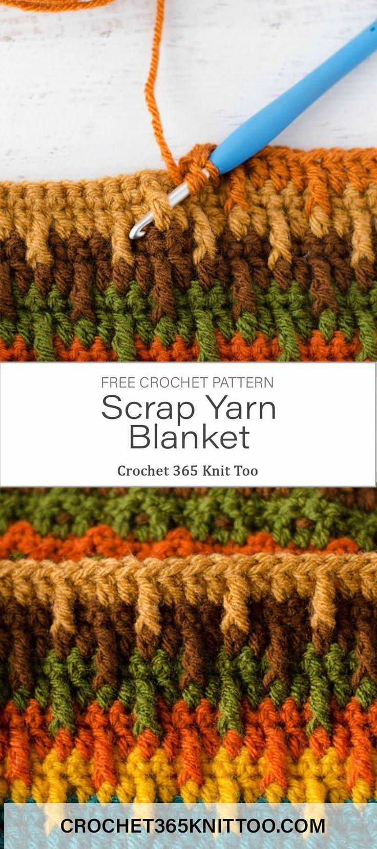 Onward and Upward Scrap Afghan Project – Crochet 365 Knit Too