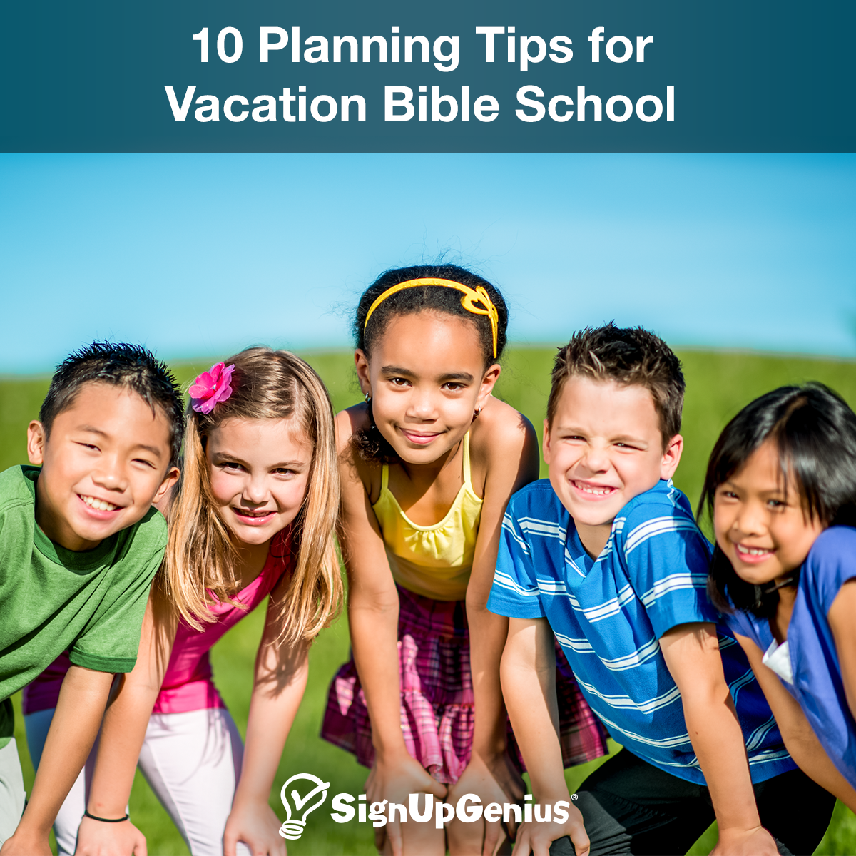 10 Planning Tips for Vacation Bible School. Have a successful week with these ideas and organizational strategies.