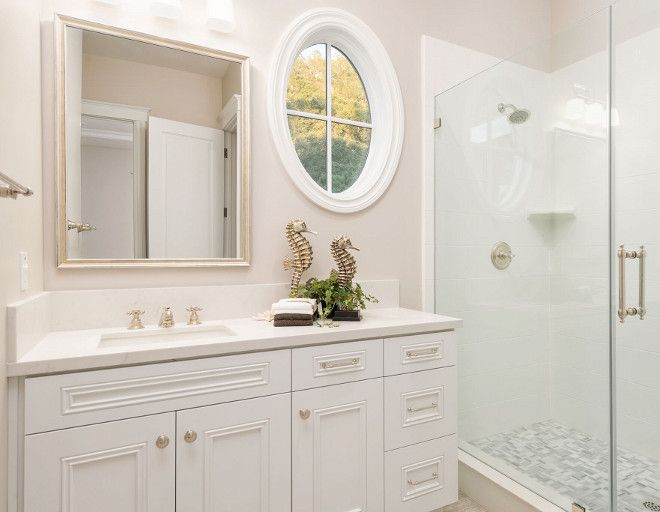Sherwin Williams Extra White White Bathroom Cabinet Paint Color Sherwin Painting Bathroom Cabinets Hamptons Style Homes Bathroom Cabinet Makeover