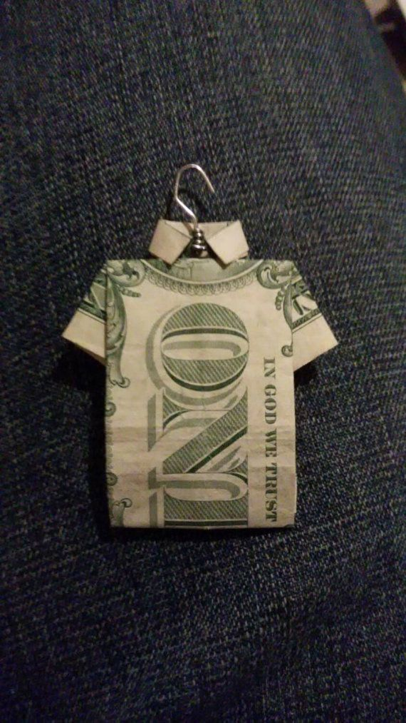 Dollar Origami Shirt & Tie Tutorial - How to fold a dollar bill in ... | 1013x570