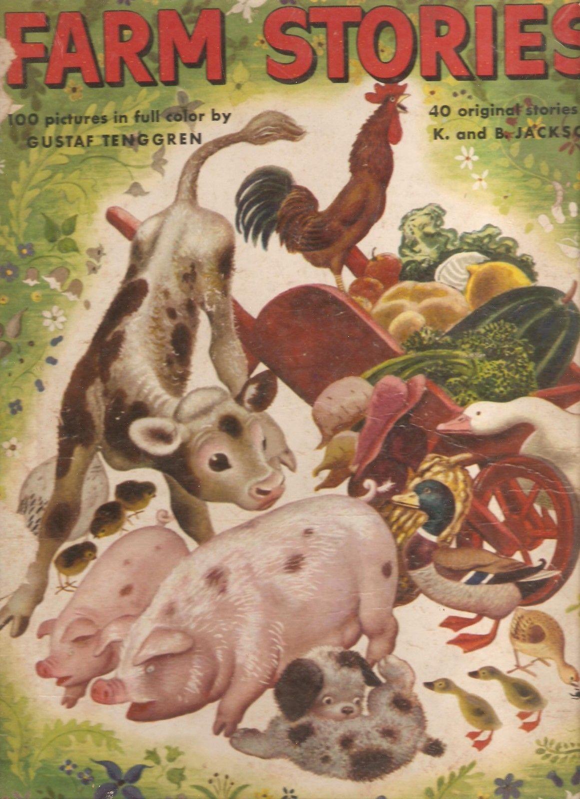 ''Farm Stories'' 1946, illustrated by Gustaf Tenggren   eBay