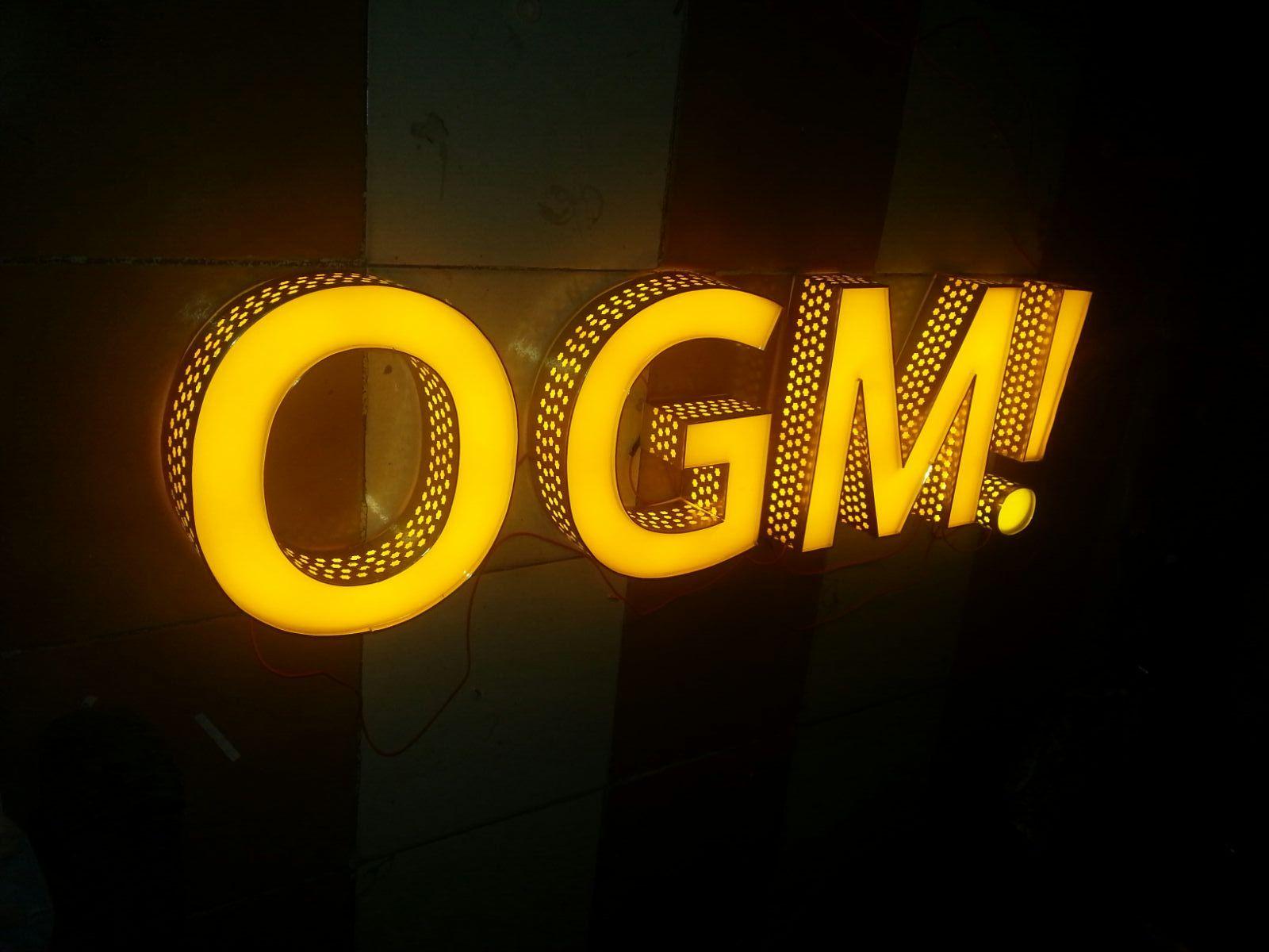 Galaxy Signage: 3D LED Signage Sign Board Logo Designing