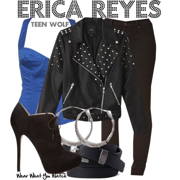 Inspired by Gage Golightly as Erica Reyes on Teen Wolf.