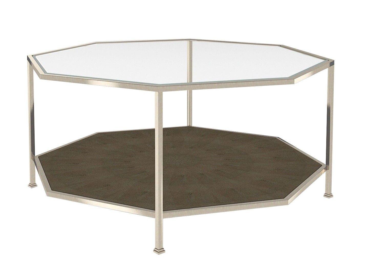Hexagonal Coffee Table Polished Nickel Charcoal Coffee Table Hexagon Coffee Table Table [ 1079 x 1438 Pixel ]