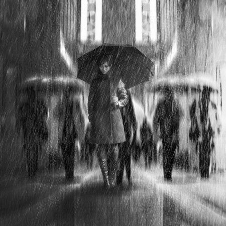 Rain of Sadness by Antonyus Bunjamin