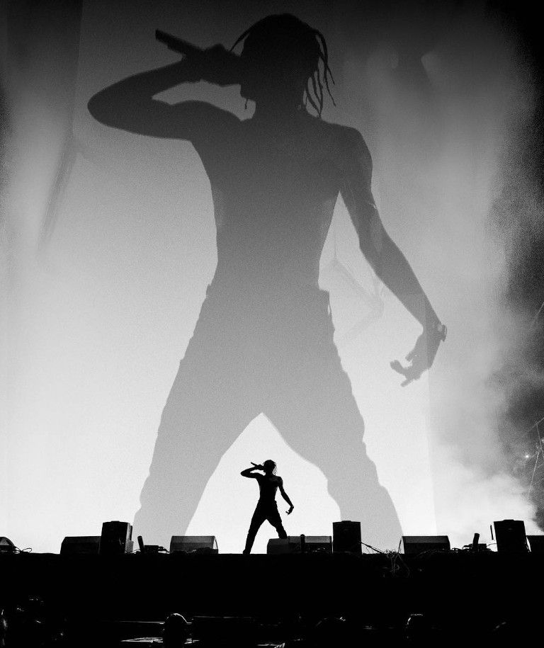 Pin By Grace Romero On Black And White Travis Scott Wallpapers Travis Scott Concert Travis Scott Iphone Wallpaper
