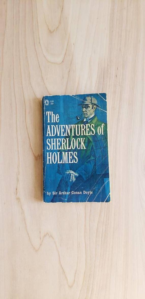 Vintage Sherlock Holmes by Arthur Conan Doyle  Detective Mystery Stories