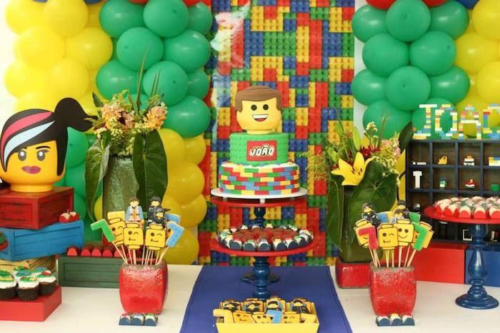 Lego Movie birthday party via Karas Party Ideas adrian