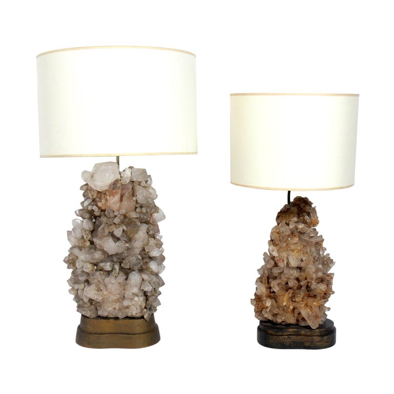 Rock Crystal Lamps Designed By Carole Stupell Lamp Design