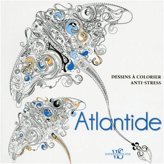 atlantide – dessins à colorier anti-stress