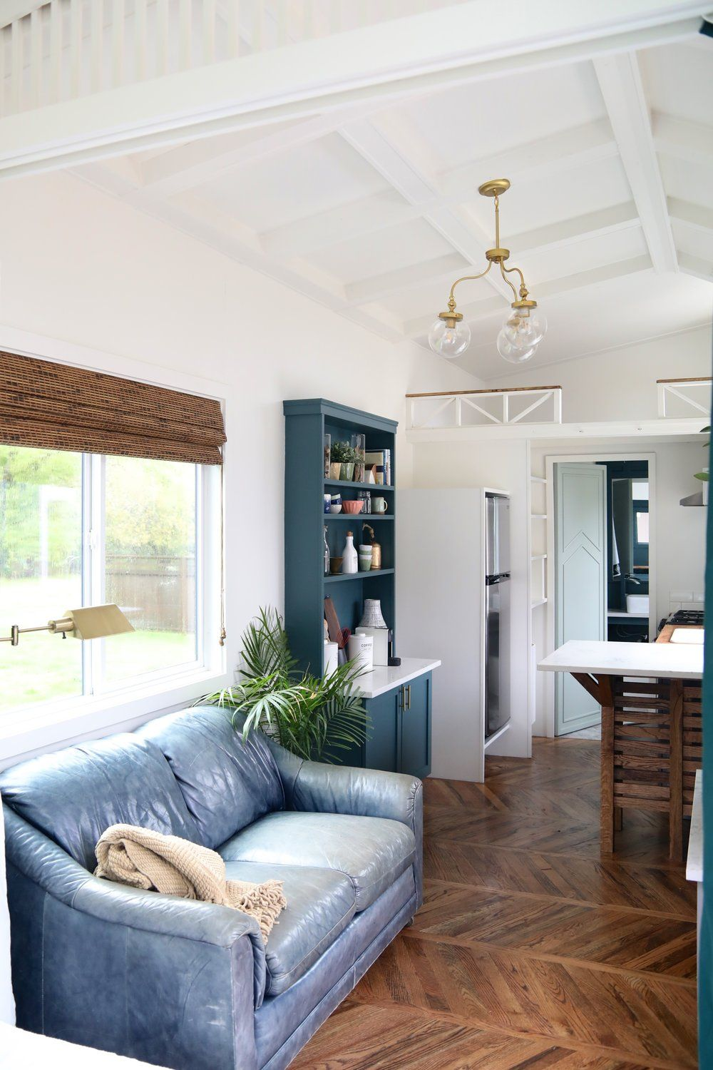 The Pacific Harmony: a stylish, luxe tiny home from Handcrafted ...
