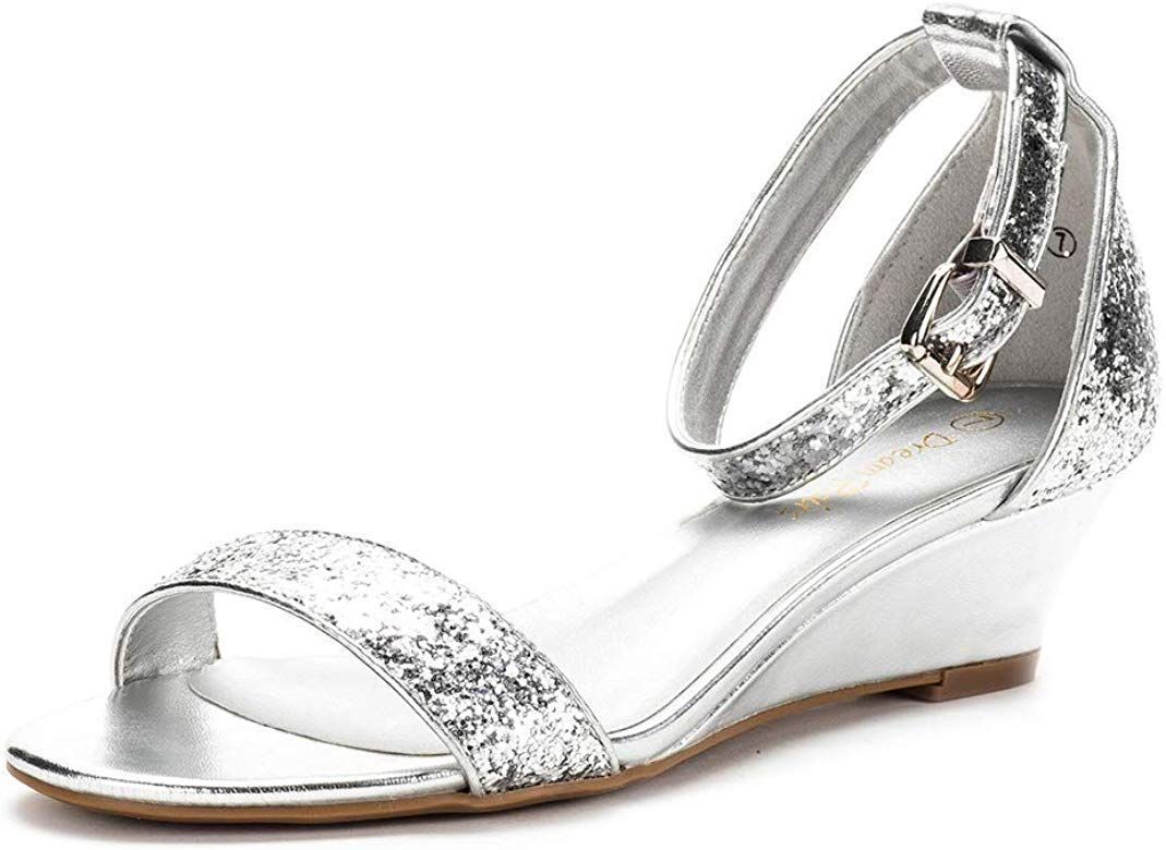DREAM PAIRS Women's Ingrid Silver Glitter Ankle Strap Low Wedge Sandals - 5 M US #lowwedgesandals DREAM PAIRS Women's Ingrid Silver Glitter Ankle Strap Low Wedge Sandals - 5 M US #lowwedgesandals DREAM PAIRS Women's Ingrid Silver Glitter Ankle Strap Low Wedge Sandals - 5 M US #lowwedgesandals DREAM PAIRS Women's Ingrid Silver Glitter Ankle Strap Low Wedge Sandals - 5 M US #lowwedgesandals