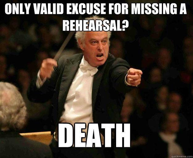 Funny Rehearsal Memes Google Search Band Jokes Marching Band Memes Funny Band Memes