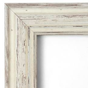 Country Whitewash Wall Mirror - Large' 32 x 26-inch : Target