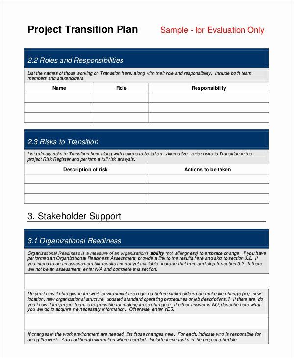 Work Transition Plan Template Awesome Staff Transition Plan Template Employee Example Free How To Plan Business Plan Template Free Business Letter Template