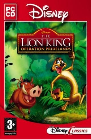 Disney Lion King Operation Pridelands (PC-CD) From Disney Classics « Game Searches