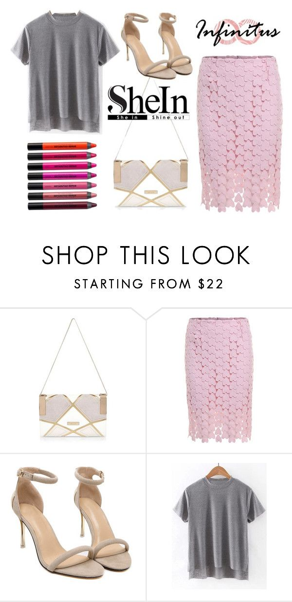 """""""shein style"""" by sheinside on Polyvore featuring River Island and Urban Decay"""