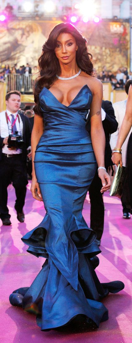 7d81a1fcd850a Yasmine Petty, a successful transgender model, at the Life Ball 2015 in  Vienna