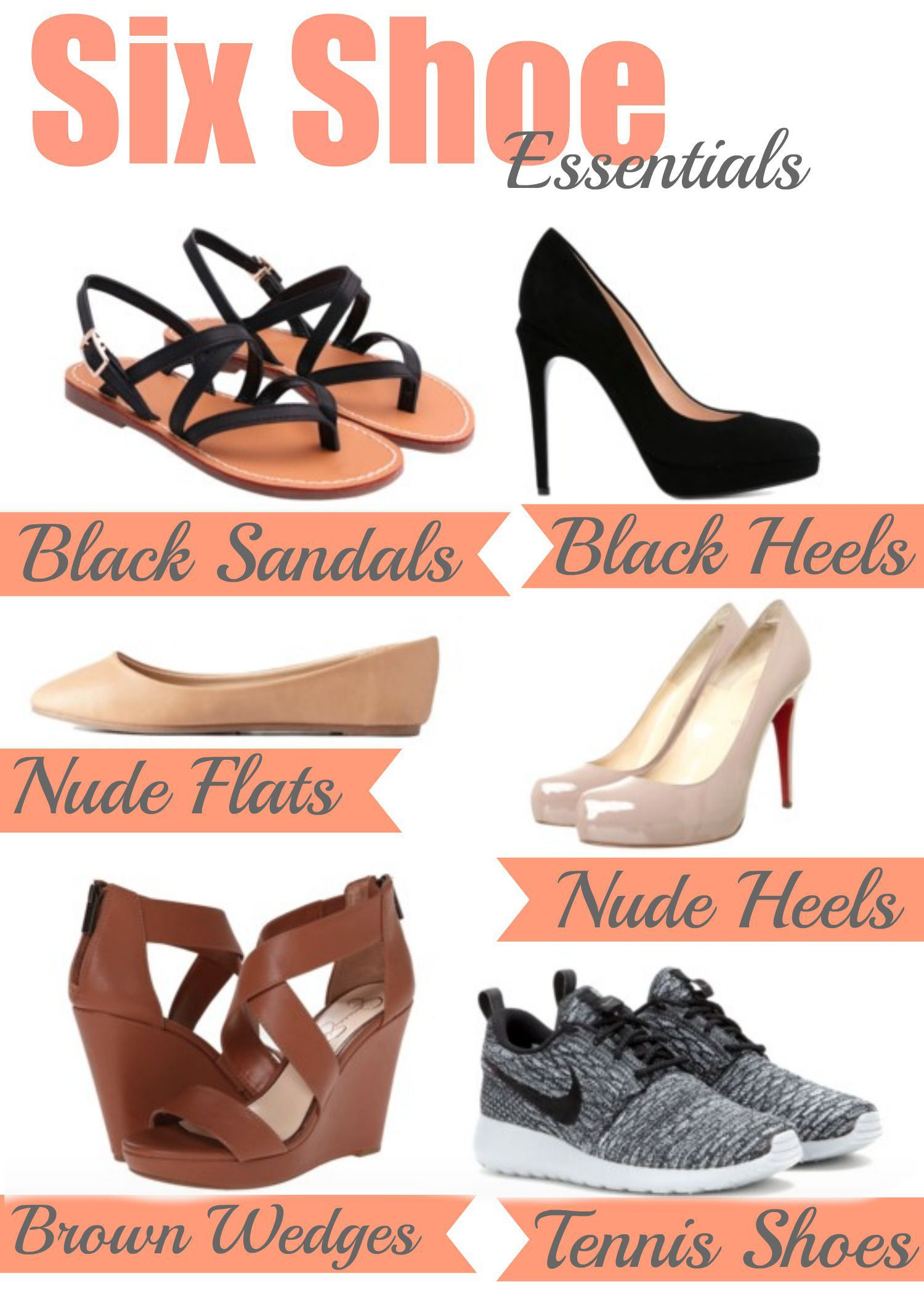 3db45a6a072 6 Shoes Ever Girl Should Have  The basics to get you through any event  you ll ever go to.