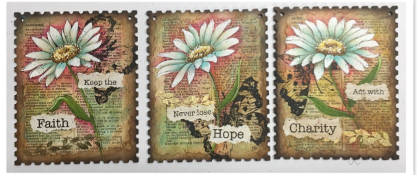 Faith Hope and Charity E-Pattern by Tracey Moreau
