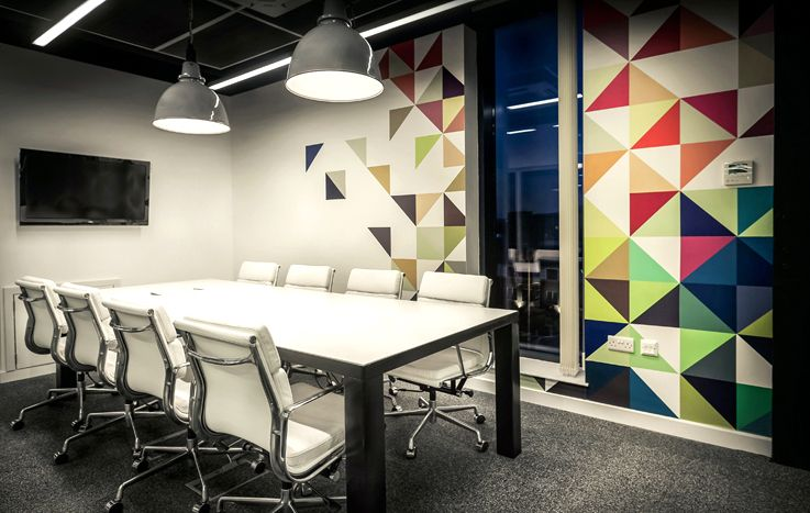 graphic design office. wall graphics office design google search graphic
