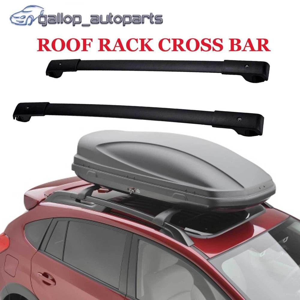 Powder Aluminium Flush Cross Bar For Subaru Forester 2014 2018 Roof Rack Rail Subaru Forester Truck Parts