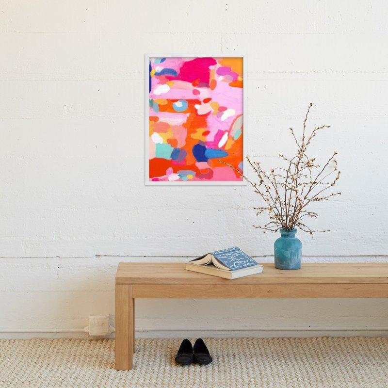 Orange Rush Painting Limited Edition Art Print By Lisa Mclean In 2020 Art Prints Limited Edition Art Print Fine Art Painting