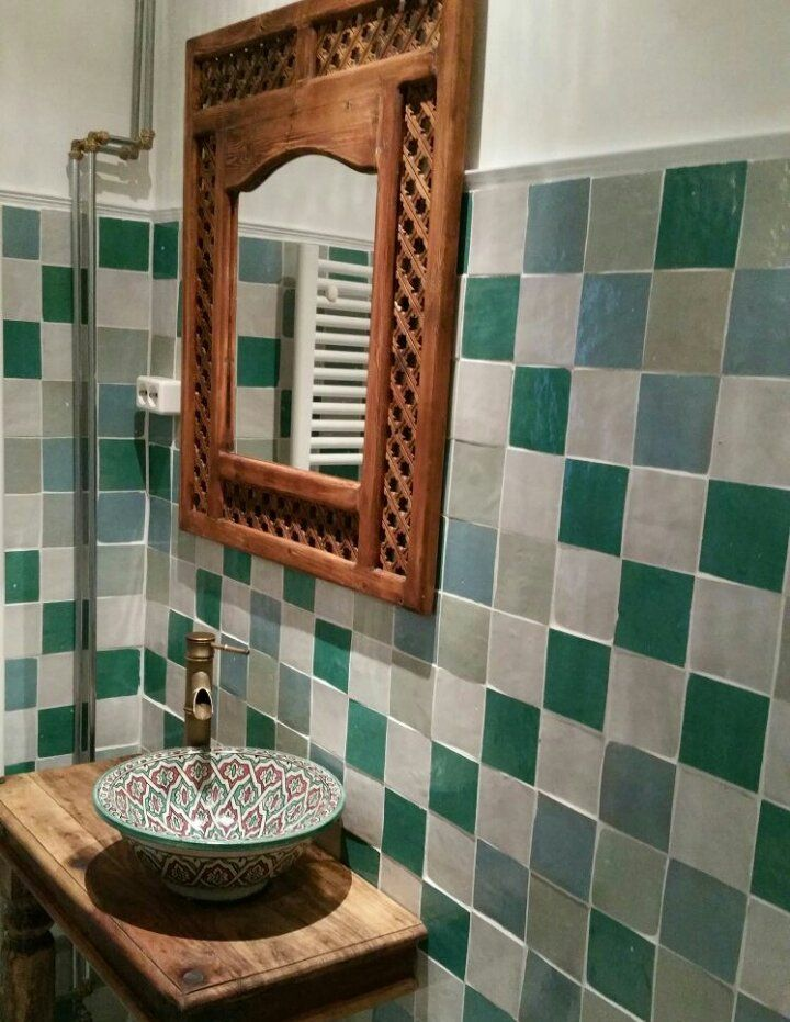 Marokkaanse tegels | badkamer ideeen | Pinterest - Marokkaanse ...