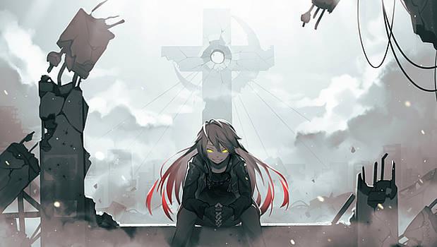 Destruction Sanctuary By Armand Michel Anime Wallpaper Art Anime