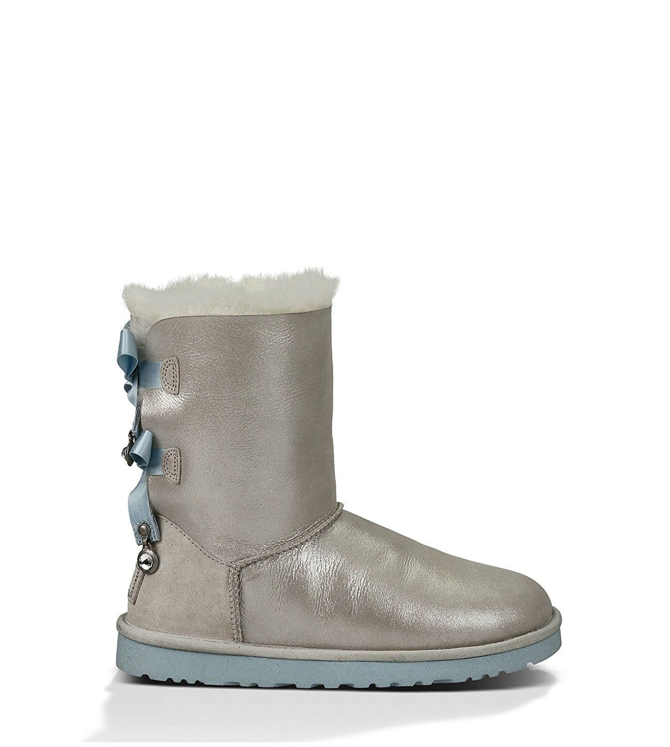 70993cc148f UGG Women's Bailey Bow Bling I Do! White Boot 11 B (M) *** This is ...